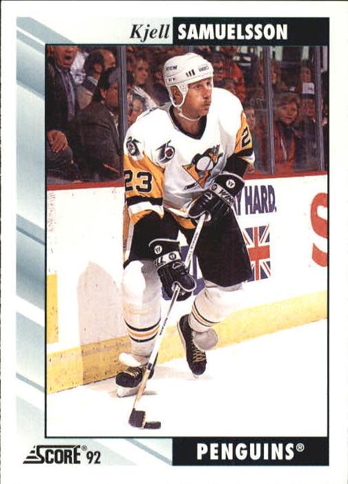 1992-93 Score #195 Kjell Samuelsson