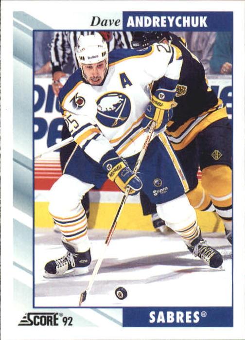 1992-93 Score #204 Dave Andreychuk