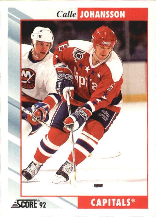 1992-93 Score #209 Calle Johansson
