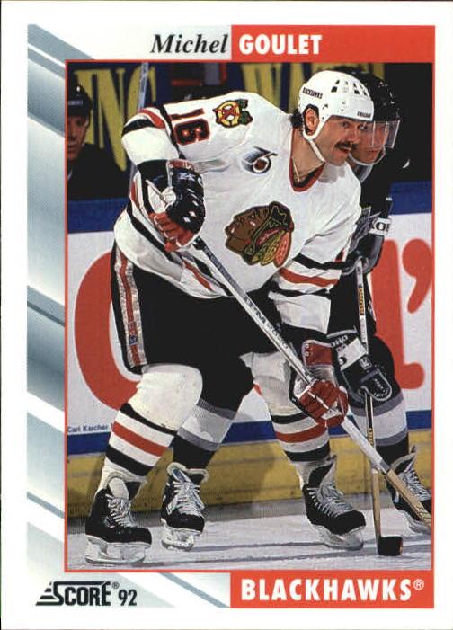 1992-93 Score #222 Michel Goulet