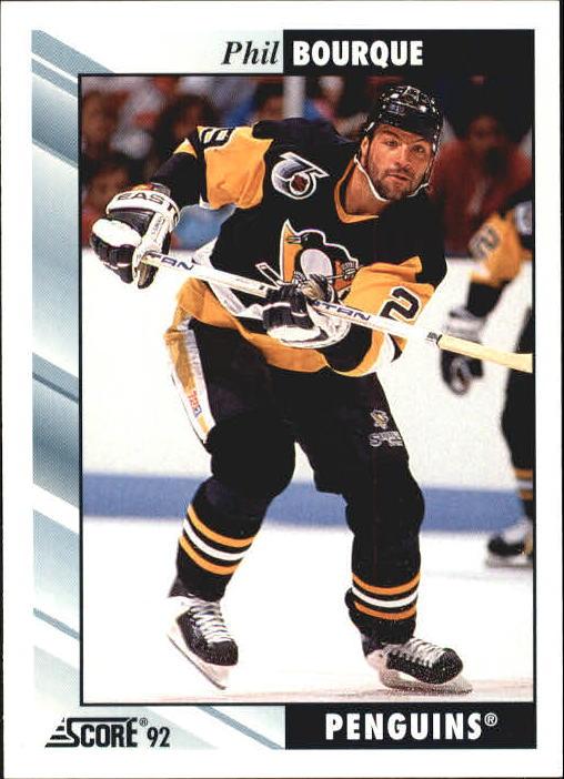 1992-93 Score #223 Phil Bourque