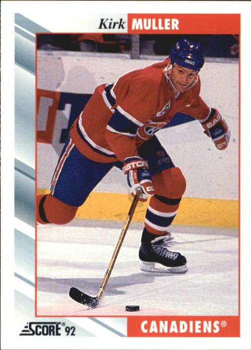 1992-93 Score #225 Kirk Muller
