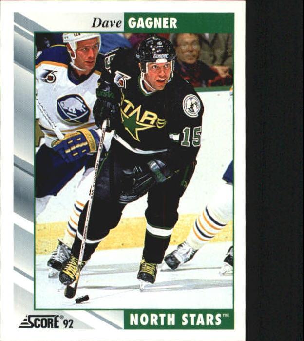 1992-93 Score #227 Dave Gagner