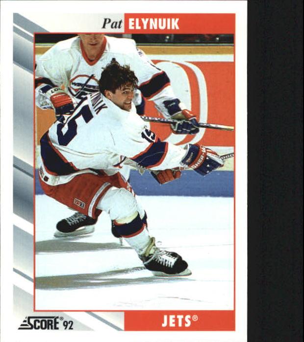 1992-93 Score #233 Pat Elynuik