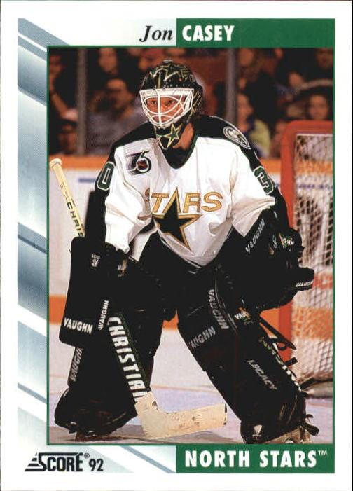 1992-93 Score #249 Jon Casey