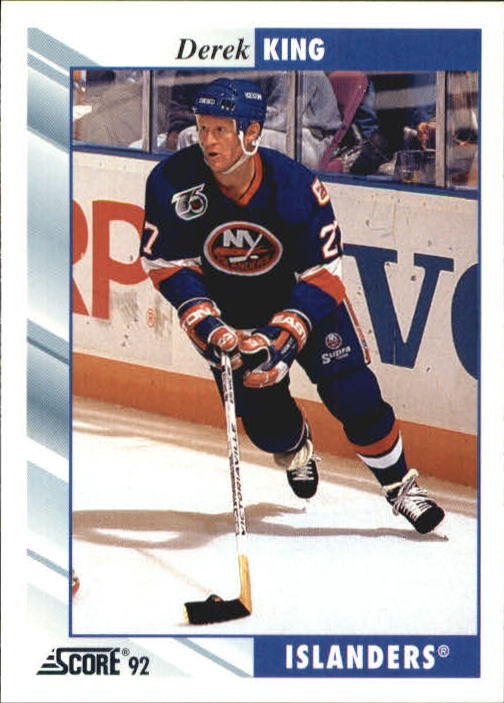 1992-93 Score #255 Derek King