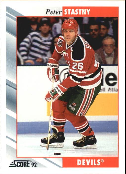 1992-93 Score #291 Peter Stastny