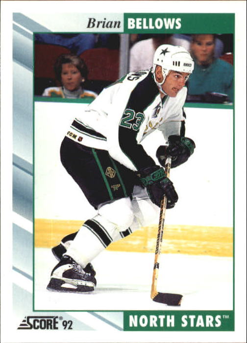 1992-93 Score #335 Brian Bellows