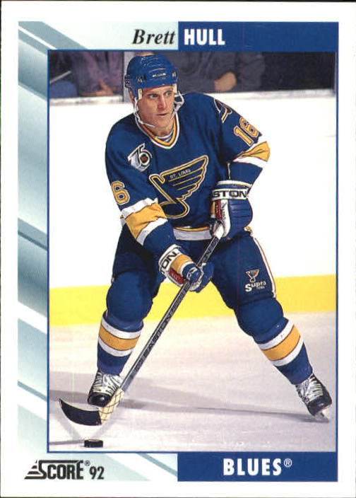 1992-93 Score #350 Brett Hull