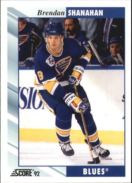 1992-93 Score #392 Brendan Shanahan