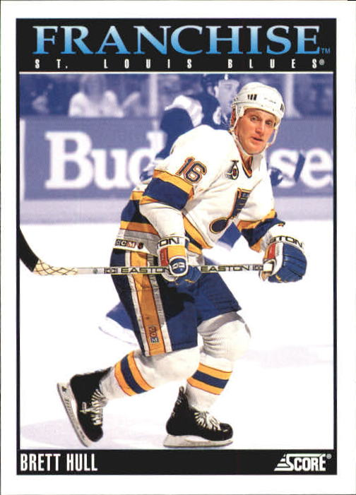 1992-93 Score #435 Brett Hull FP