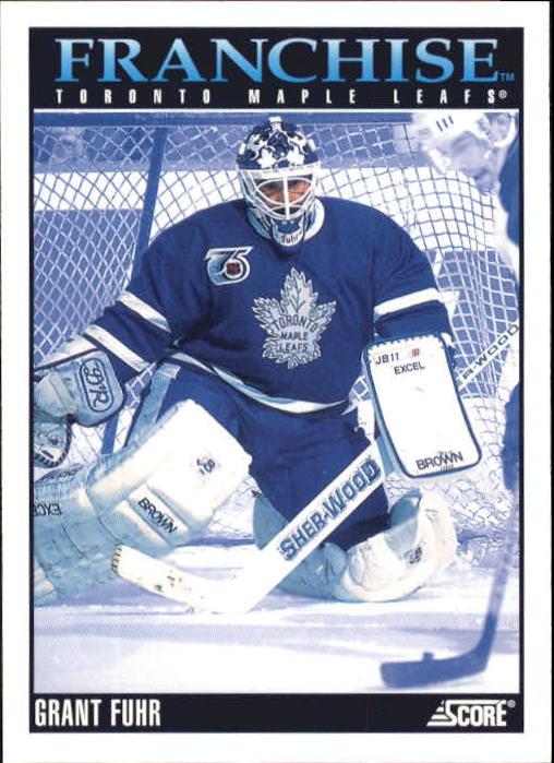 1992-93 Score #437 Grant Fuhr FP