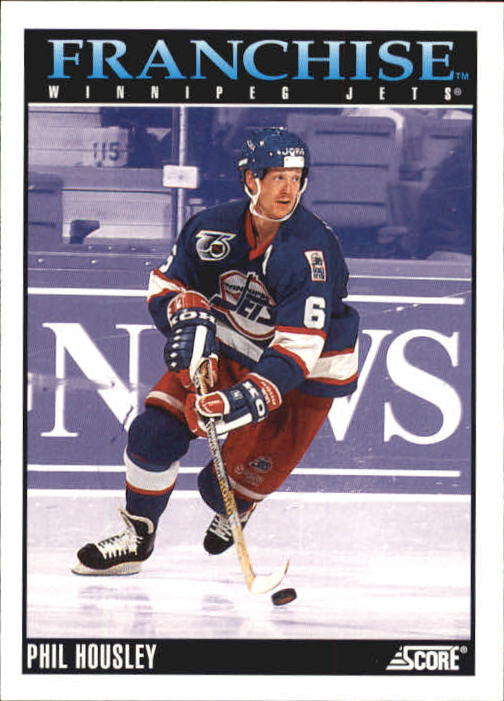 1992-93 Score #440 Phil Housley FP