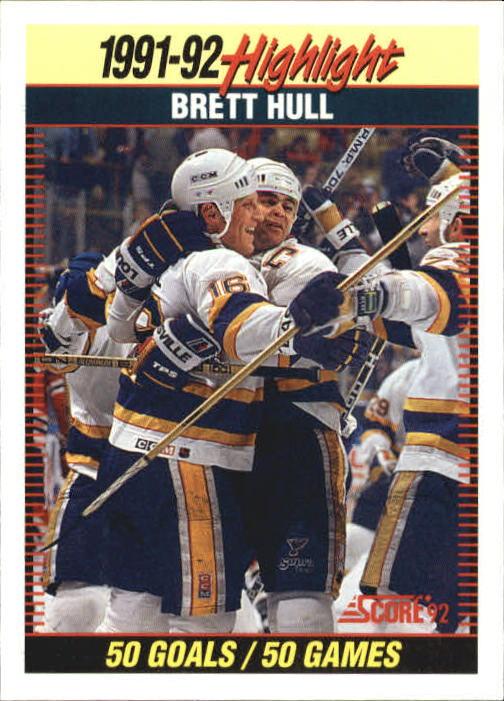 1992-93 Score #442 Brett Hull HL