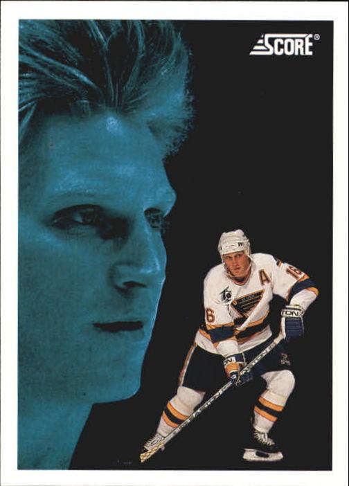 1992-93 Score #500 Brett Hull DT