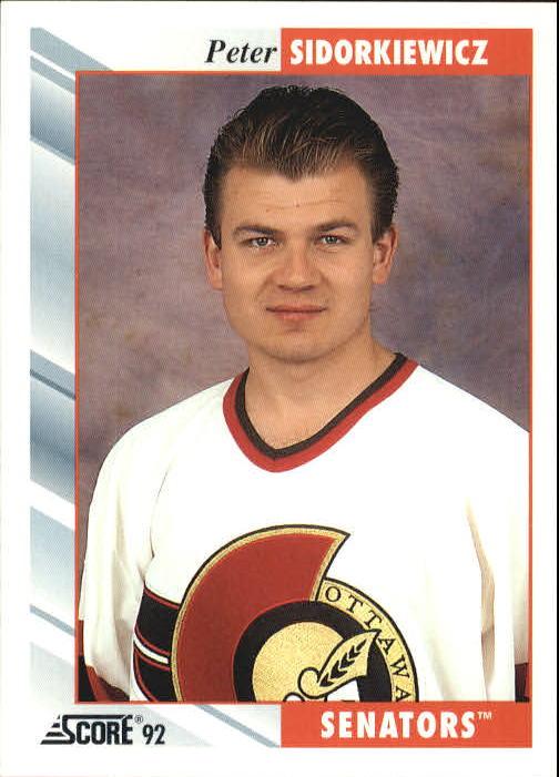1992-93 Score #515 Peter Sidorkiewicz