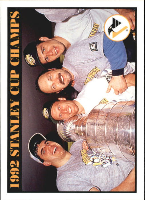 1992-93 Score #518 Stanley Cup/Champions