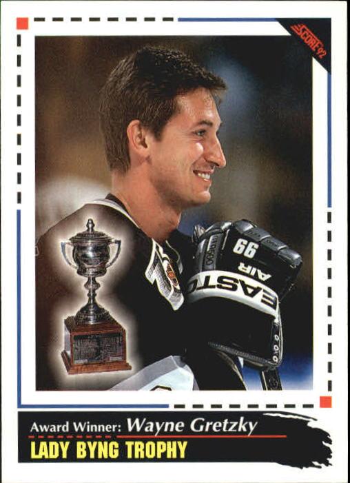 1992-93 Score #525 Wayne Gretzky AW