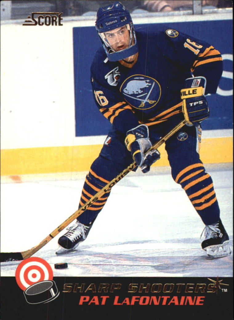 1992-93 Score Sharp Shooters #8 Pat LaFontaine