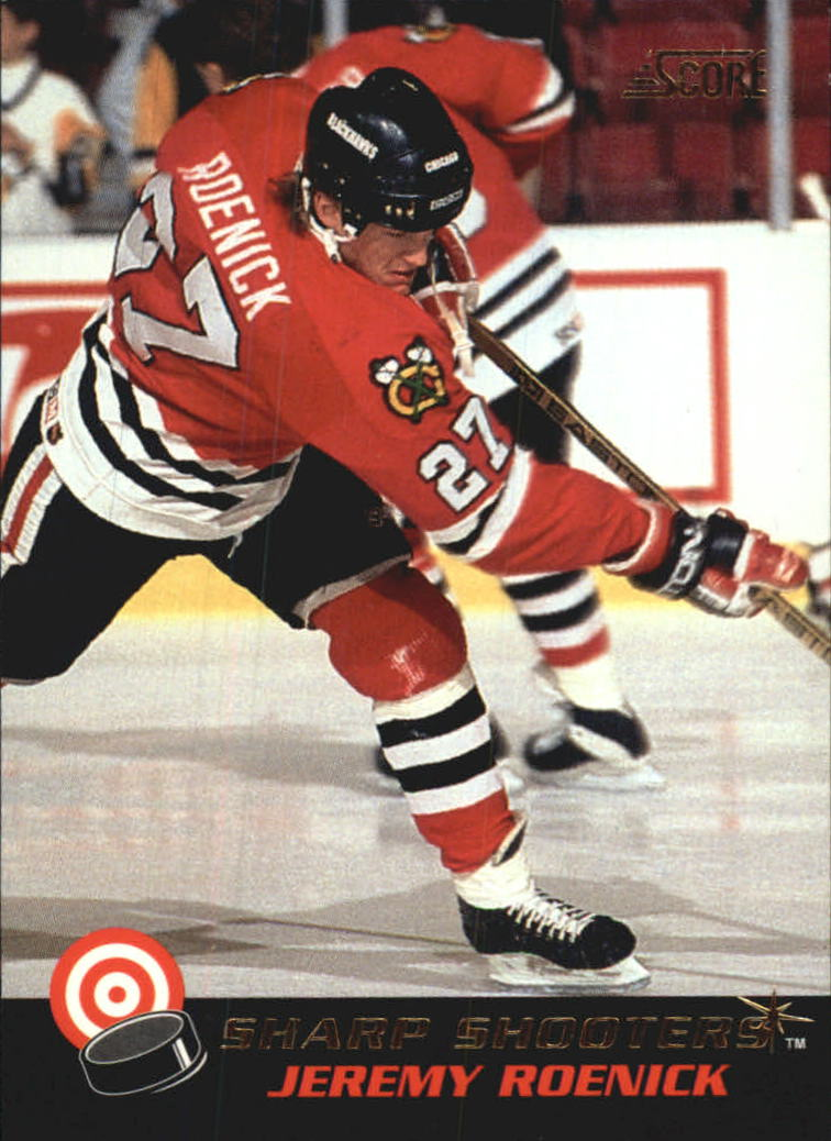 1992-93 Score Sharp Shooters #10 Jeremy Roenick