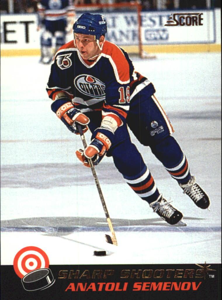 1992-93 Score Sharp Shooters #28 Anatoli Semenov