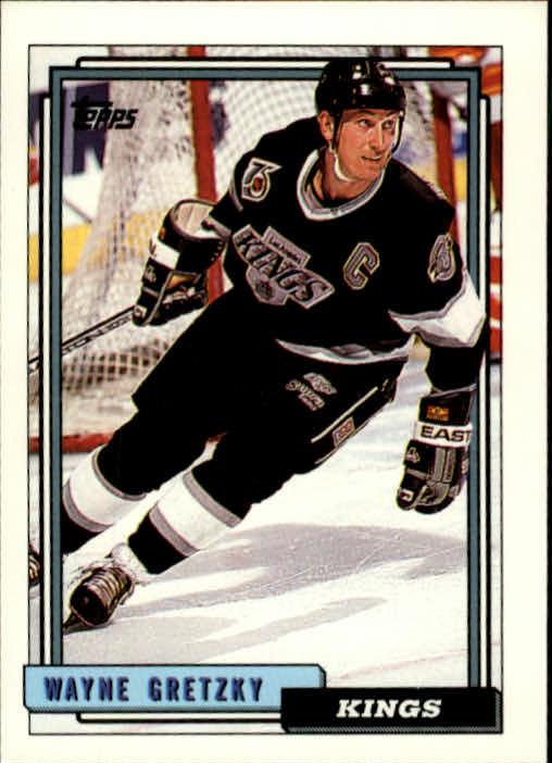 1992-93 Topps #1 Wayne Gretzky