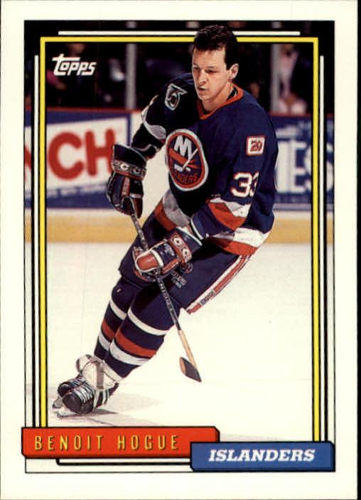 1992-93 Topps #103 Benoit Hogue