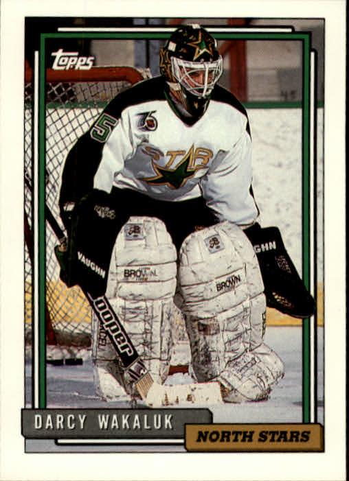 1992-93 Topps #108 Darcy Wakaluk