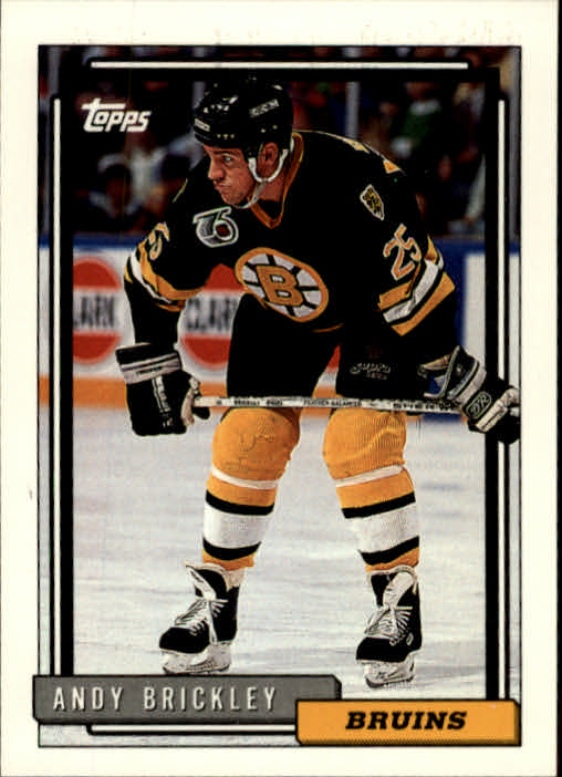 1992-93 Topps #109 Andy Brickley