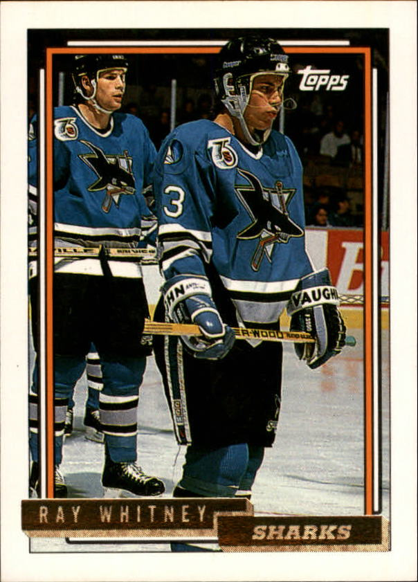 1992-93 Topps Gold #205 Ray Whitney
