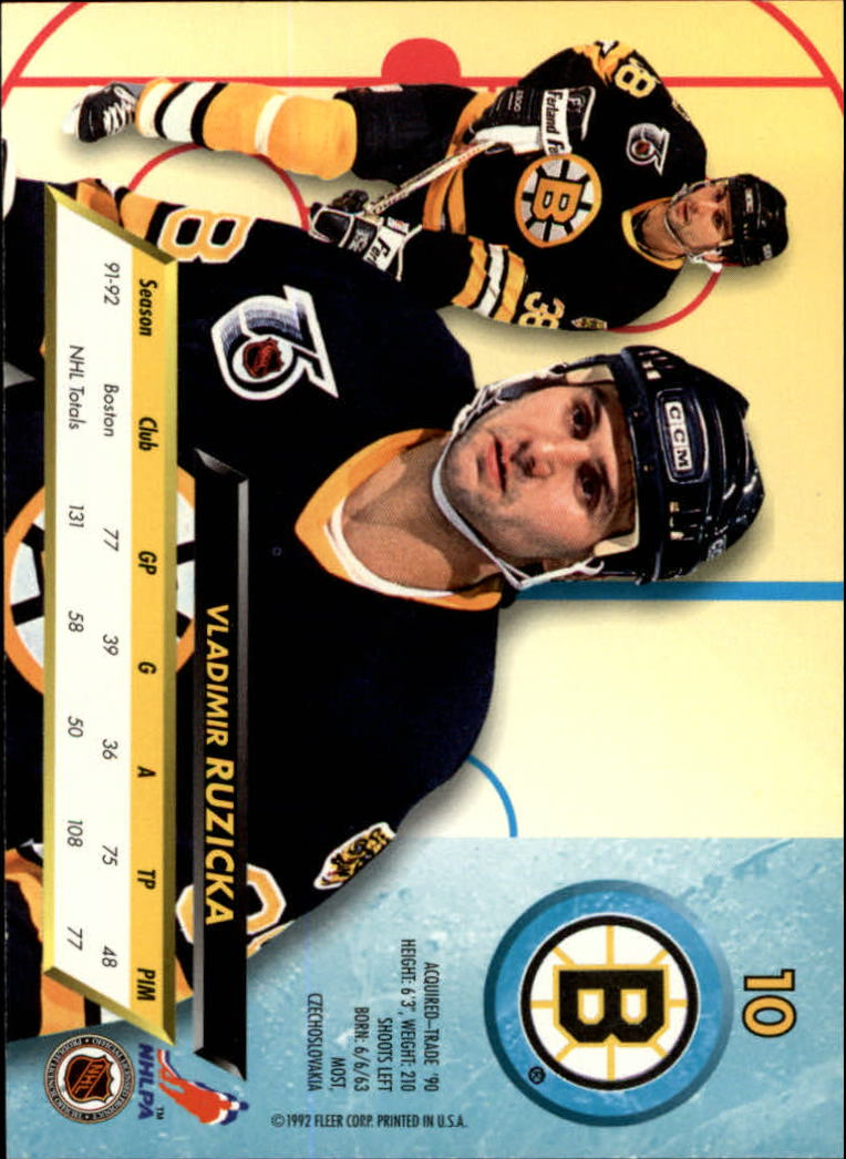 1992-93-Ultra-Hockey-1-250-Your-Choice-GOTBASEBALLCARDS thumbnail 19