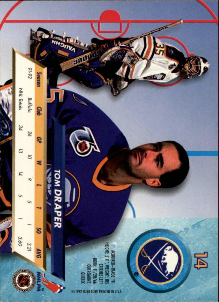 1992-93-Ultra-Hockey-1-250-Your-Choice-GOTBASEBALLCARDS thumbnail 27