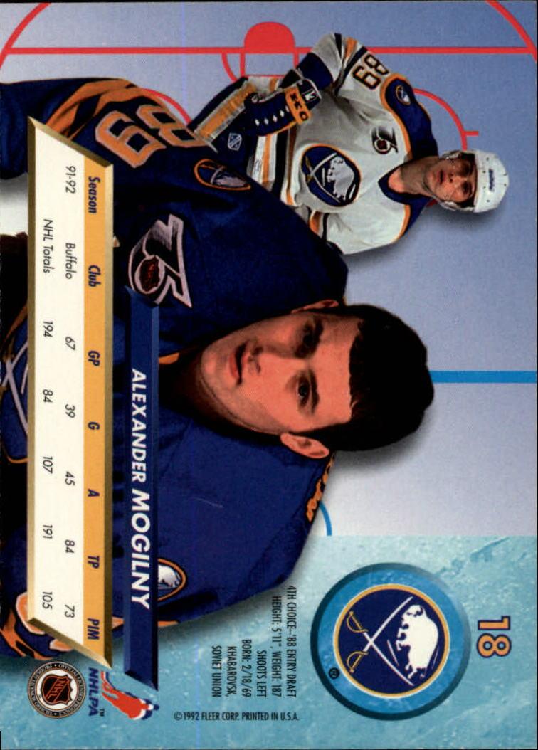 1992-93-Ultra-Hockey-1-250-Your-Choice-GOTBASEBALLCARDS thumbnail 35