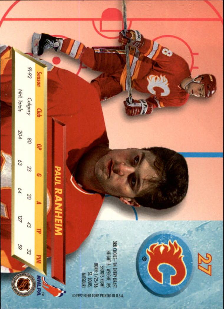 1992-93-Ultra-Hockey-1-250-Your-Choice-GOTBASEBALLCARDS thumbnail 53