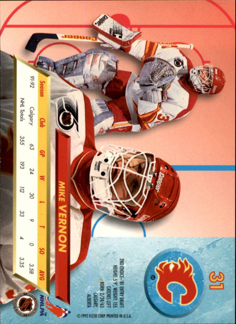 1992-93-Ultra-Hockey-1-250-Your-Choice-GOTBASEBALLCARDS thumbnail 61