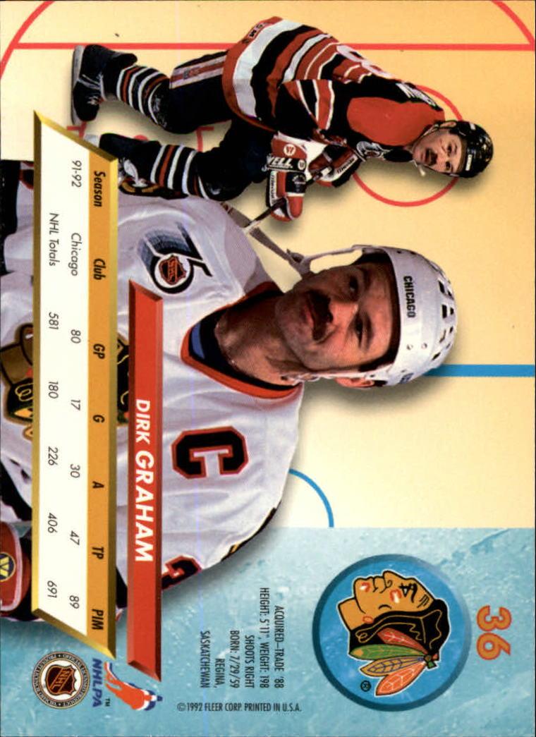 1992-93-Ultra-Hockey-1-250-Your-Choice-GOTBASEBALLCARDS thumbnail 71