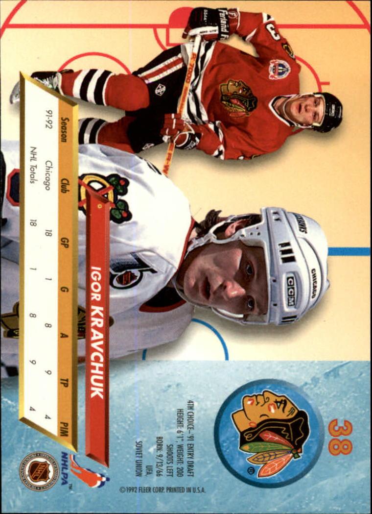 1992-93-Ultra-Hockey-1-250-Your-Choice-GOTBASEBALLCARDS thumbnail 75