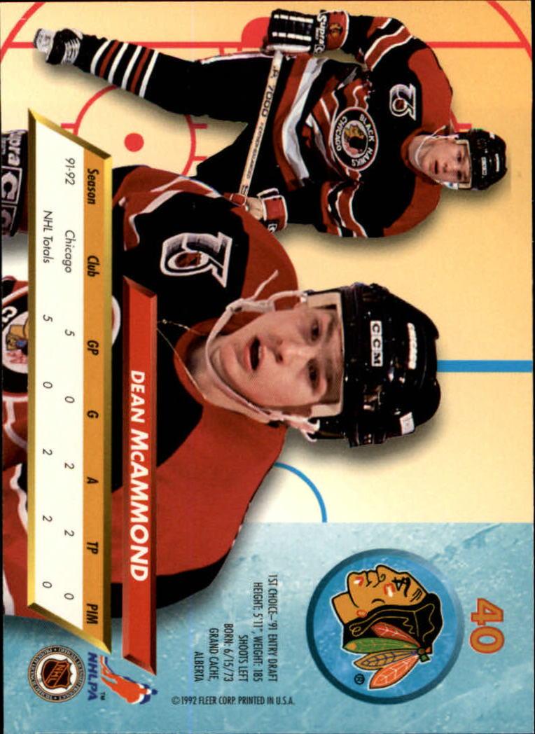 1992-93-Ultra-Hockey-1-250-Your-Choice-GOTBASEBALLCARDS thumbnail 79