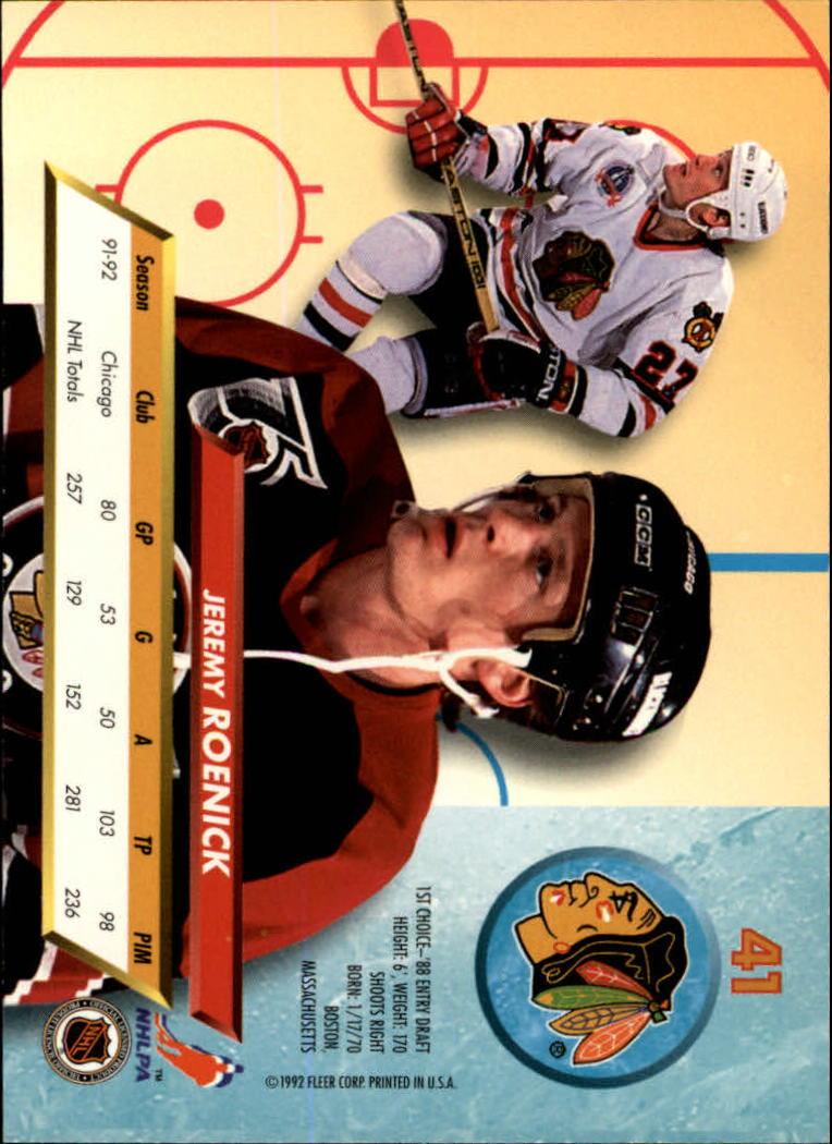 1992-93-Ultra-Hockey-1-250-Your-Choice-GOTBASEBALLCARDS thumbnail 81