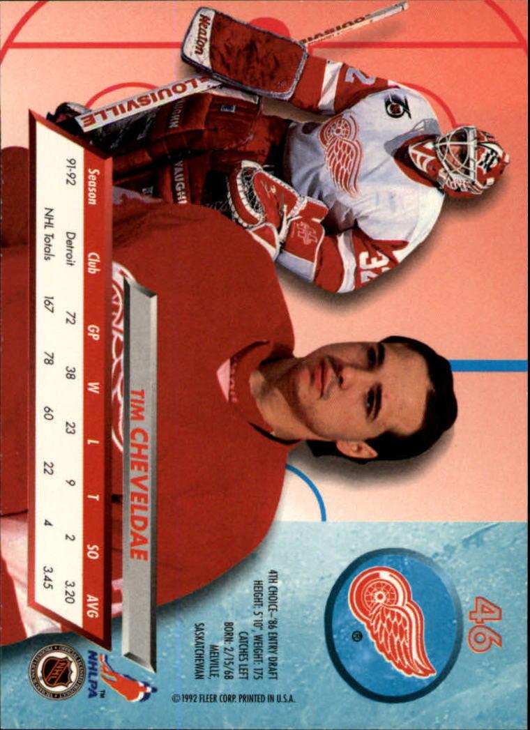 1992-93-Ultra-Hockey-1-250-Your-Choice-GOTBASEBALLCARDS thumbnail 91