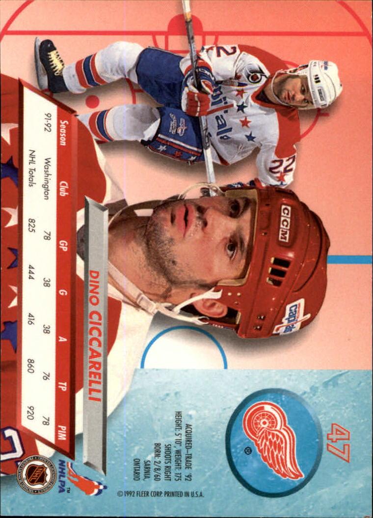 1992-93-Ultra-Hockey-1-250-Your-Choice-GOTBASEBALLCARDS thumbnail 93