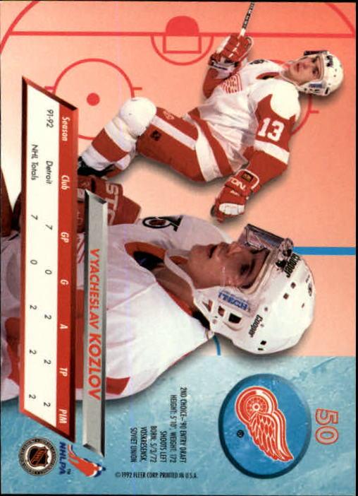 1992-93-Ultra-Hockey-1-250-Your-Choice-GOTBASEBALLCARDS thumbnail 99