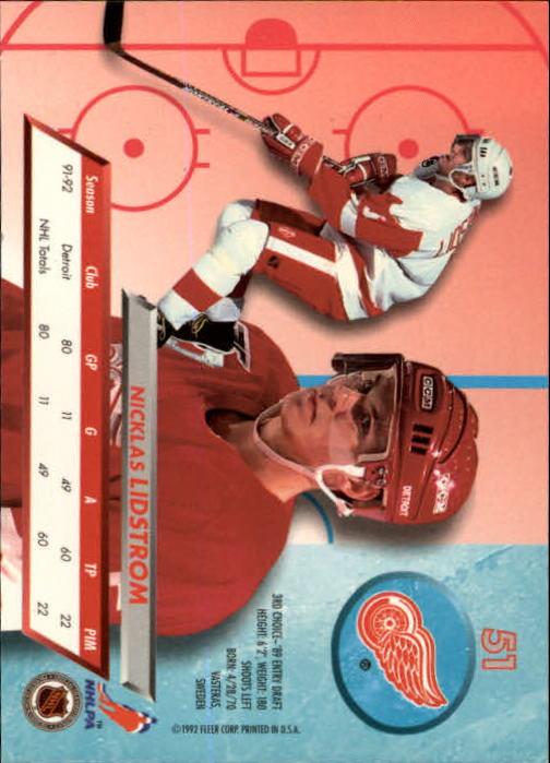 1992-93-Ultra-Hockey-1-250-Your-Choice-GOTBASEBALLCARDS thumbnail 101