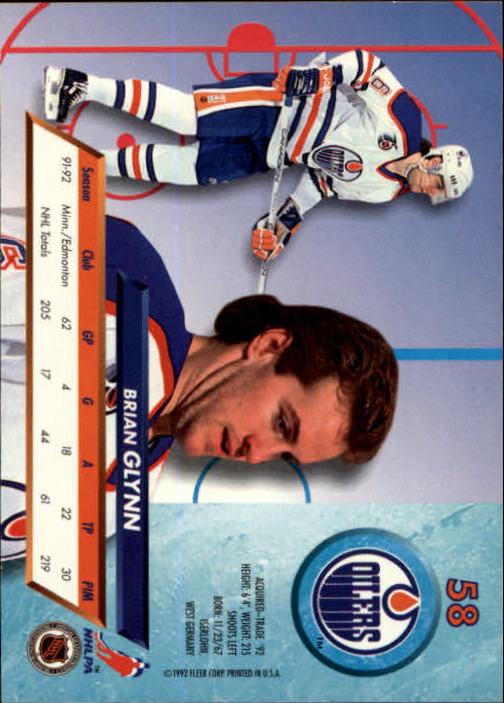 1992-93-Ultra-Hockey-1-250-Your-Choice-GOTBASEBALLCARDS thumbnail 115