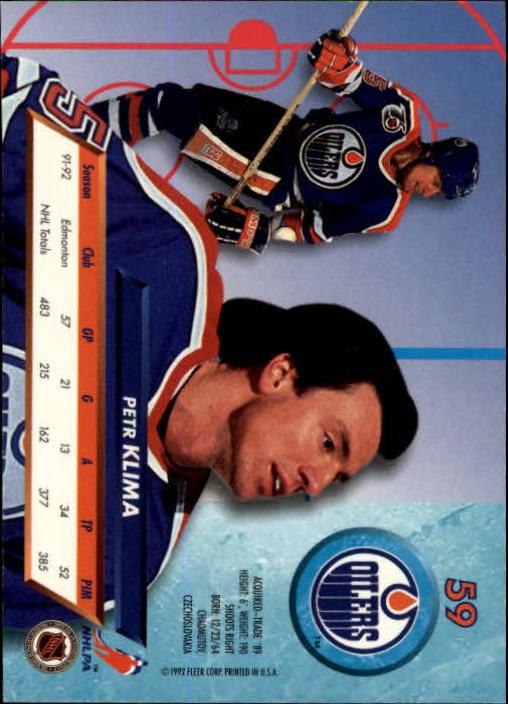 1992-93-Ultra-Hockey-1-250-Your-Choice-GOTBASEBALLCARDS thumbnail 117