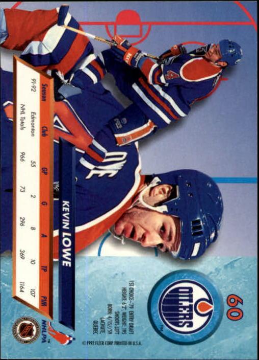 1992-93-Ultra-Hockey-1-250-Your-Choice-GOTBASEBALLCARDS thumbnail 119