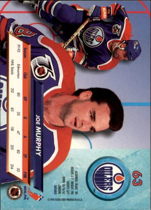 1992-93-Ultra-Hockey-1-250-Your-Choice-GOTBASEBALLCARDS thumbnail 125