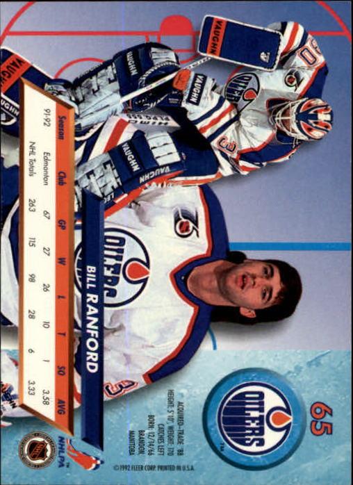 1992-93-Ultra-Hockey-1-250-Your-Choice-GOTBASEBALLCARDS thumbnail 129