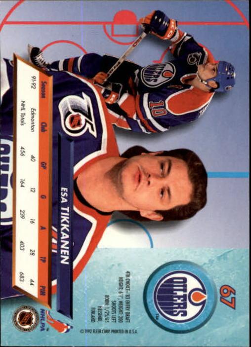 1992-93-Ultra-Hockey-1-250-Your-Choice-GOTBASEBALLCARDS thumbnail 133