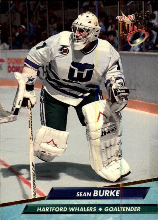 1992-93 Ultra #68 Sean Burke